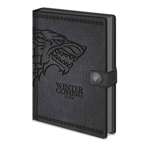 Notebook Stark Game of Thrones