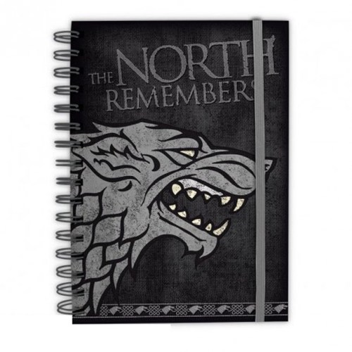 Notebook Stark the north remember Game of Thrones