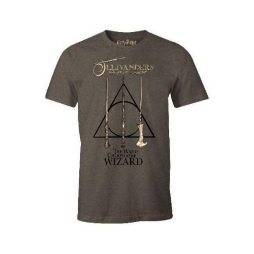 T Shirt Ollivander The Wand Choose the Wizard Harry Potter