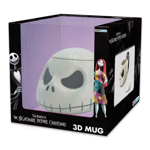Tazza 3D Jack Nightmare Before Christmas scatola