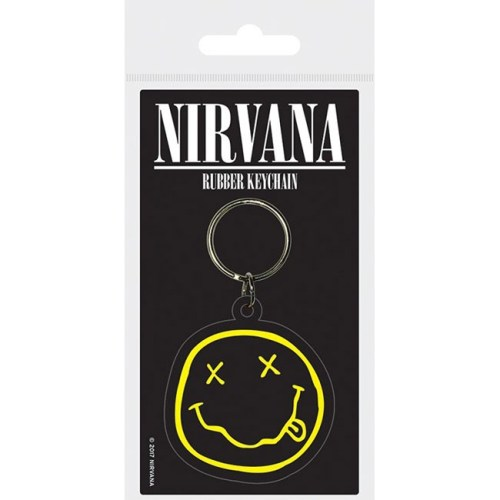 Portachiavi in gomma Nirvana