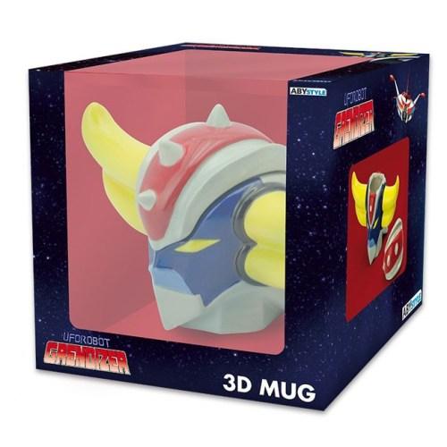 Tazza 3D Mazinga dettaglio scatola