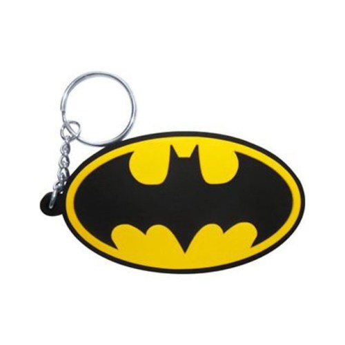 portachiavi Batman logo in gomma