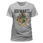t-shirt grigia Hogwarts harry potter