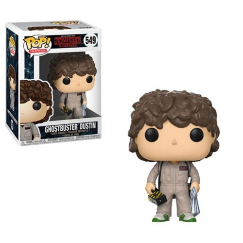 Funko Pop Ghostbuster Dustin Stranger Thing 549