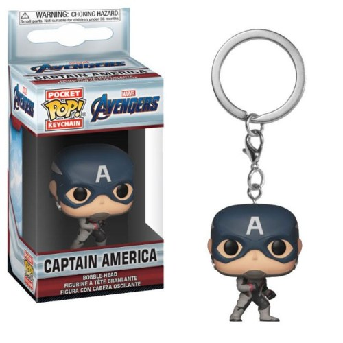 funko pocket keychain Captain America Marvel