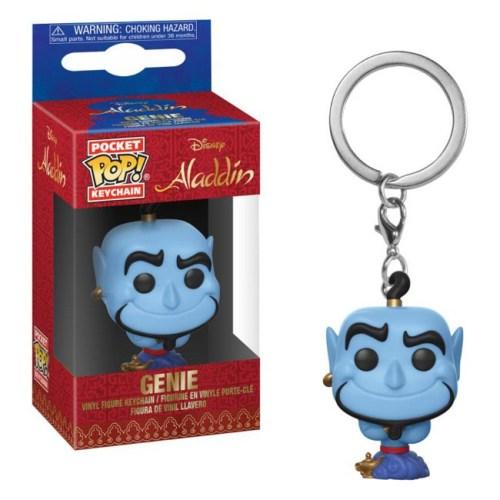 funko pocket keychain Genie Aladdin Disney