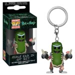 funko pocket keychain Pickle Rick in rat suit Rick e Morty