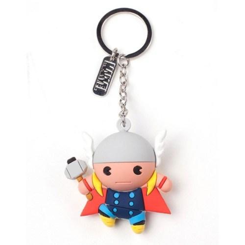 portachiavi Thor in Gomma Marvel