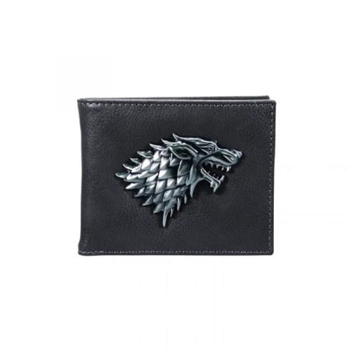 portafoglio Stark stemma in 3D Game of thrones