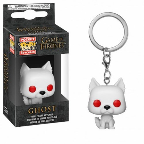 Funko Pocket Keychain Ghost Game of Thrones