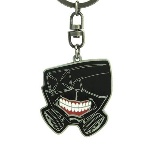 portachiavi maschera Tokyo Ghoul dettaglio