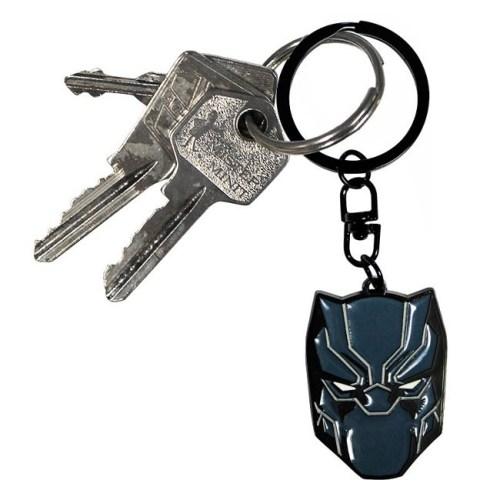 portachiavi Black panter mask marvel dettaglio chiavi