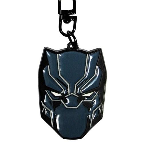 portachiavi Black panter mask marvel dettaglio