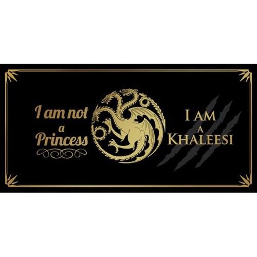 tazza i am a khaleesi game of thrones dettaglio disegno completo