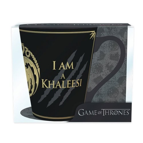tazza i am a khaleesi game of thrones dettaglio scatola
