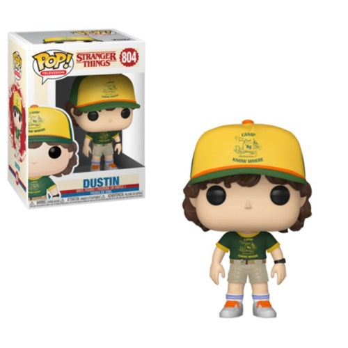 Funko Pop Dustin Stranger Things 804