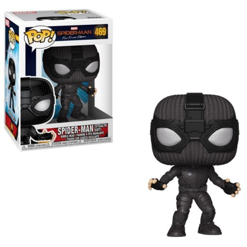 Funko Pop Spiderman stealth suit far from home 469