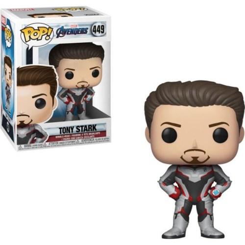 funko pop tony Stark avengers marvel 449