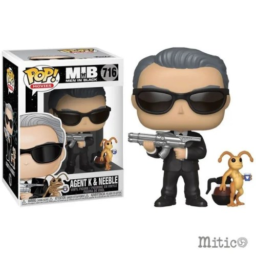 Funko Pop Agent K and Neeble Men in Black 716