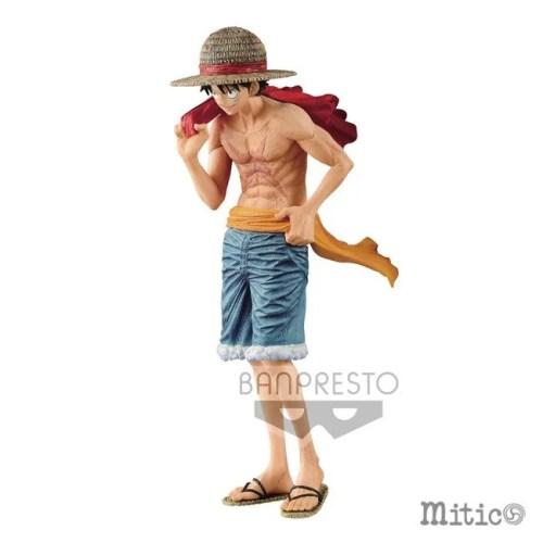 Action Figure Monkey D Luffy One Piece Magazine Banpresto