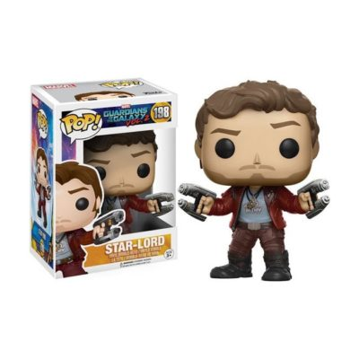 Funko Pop Star Lord Guardians of the galaxy 198