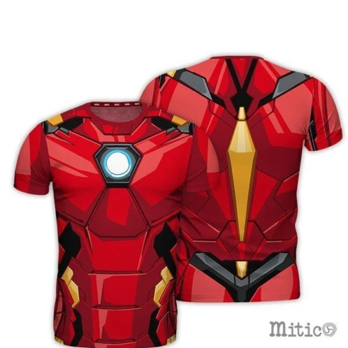 t-shirt full print Iron Man
