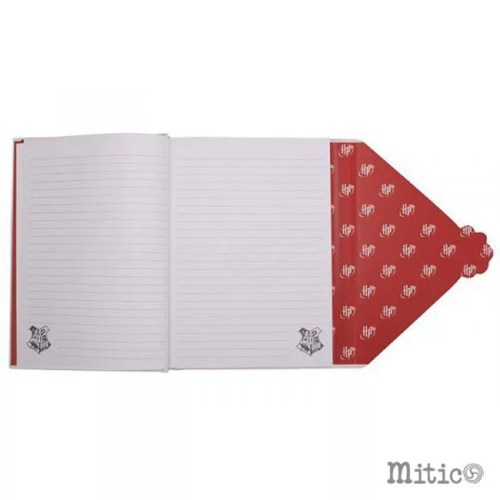 notebook Lettera Hogwarts Harry Potter aperto
