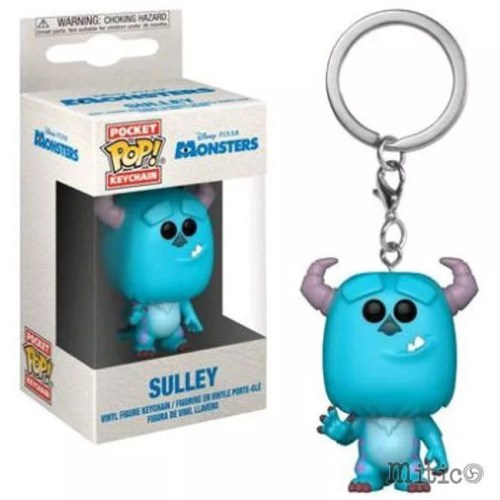 Pocket Pop Keychain Sulley Monsters Disney Pixar