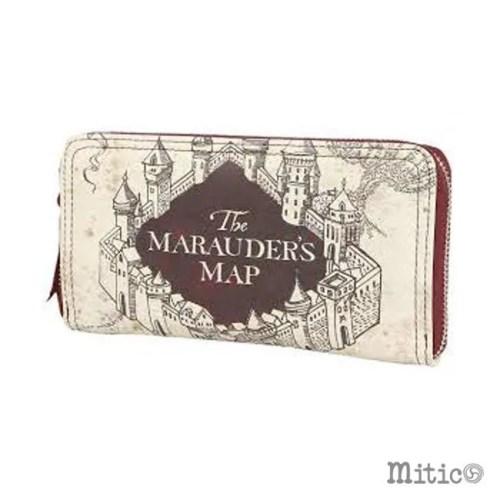 portafoglio da donna Mappa del Malandrino Harry potter