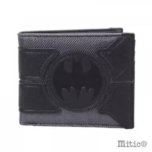 portafoglio nero batman con stemma grande DC Comics