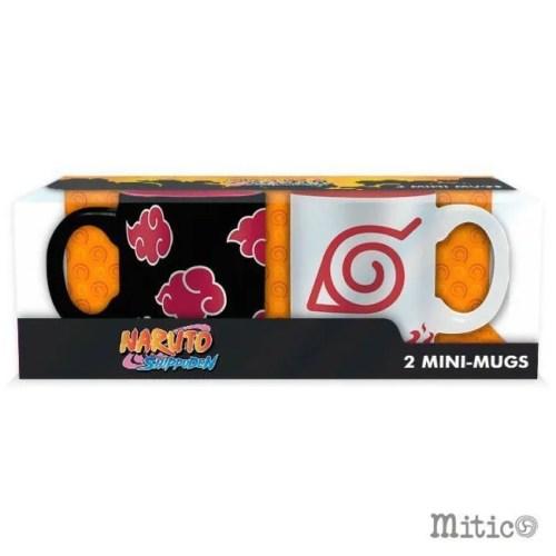 set tazzine da caffe Naruto Shippuden scatola