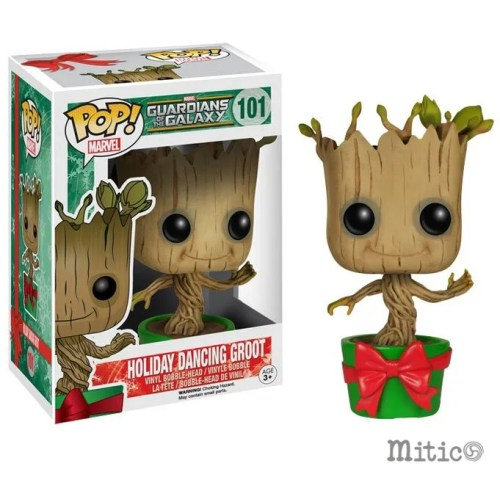 funko pop Holiday Dancing Groot Guardian of Galaxy Marvel 101