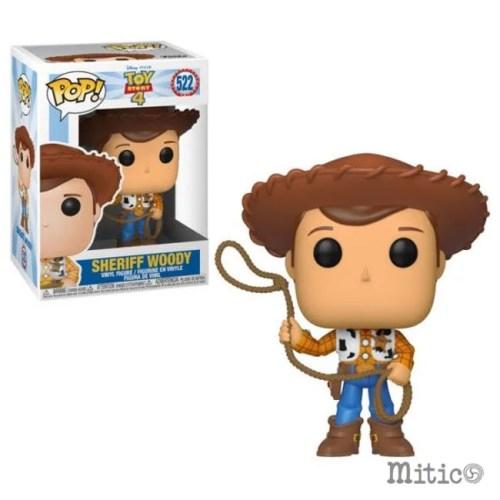 funko pop Sheriff Woody Toy Story 4 Disney Pixar 522