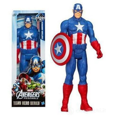 Capitan America Titan Hero 30cm