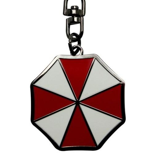 Portachiavi Umbrella Corp Resident Evil dettaglio