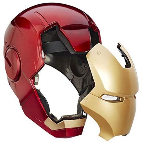 Casco Elettronico Iron Man Marvel Hasbro dettaglio