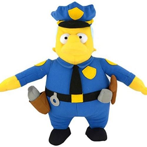 Peluche Commissario Clancy Winchester Simpson 31cm