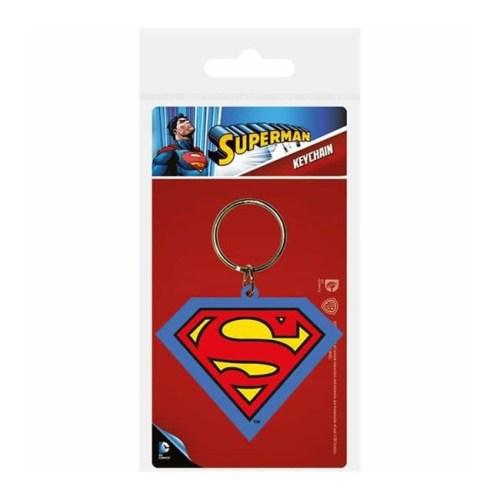 portachiavi in gomma Superman DC Comics
