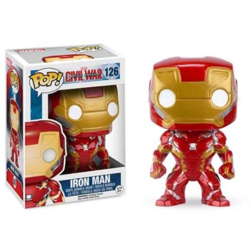 Funko Pop Iron Man Civil War 126