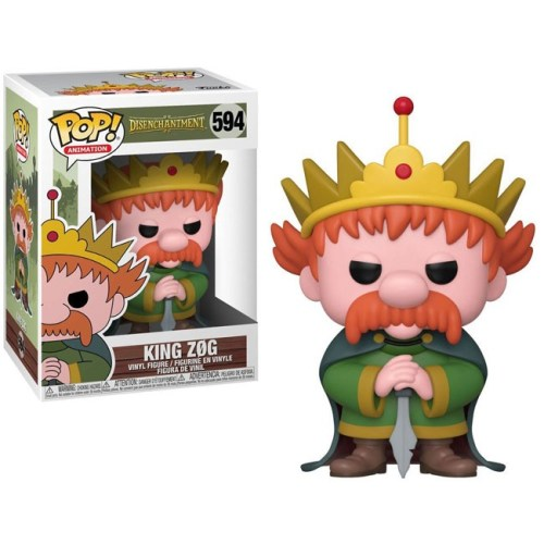 Funko Pop King Zog Disenchantment 594