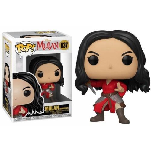 Funko Pop Mulan Warrior Disney 637