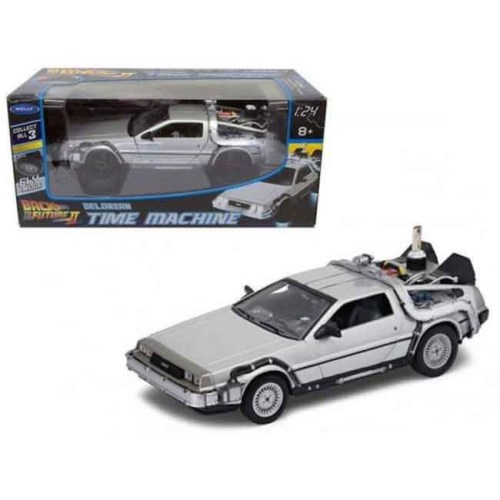 Modellino scala 1 a 24 Delorean Back to the Future 2