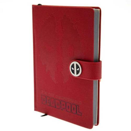 Notebook A5 Deadpool Marvel