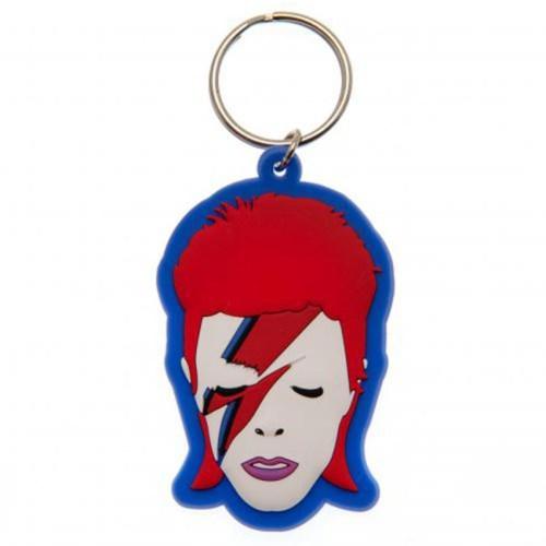Portachiavi David Bowie in Gomma