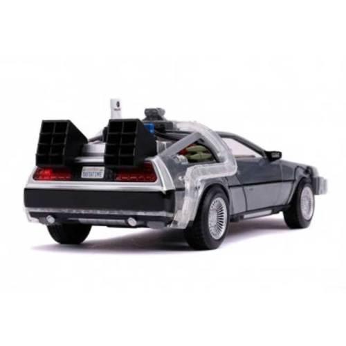 Modellino Delorean scala 1/24 Backto the Future con Luci dettaglio retro