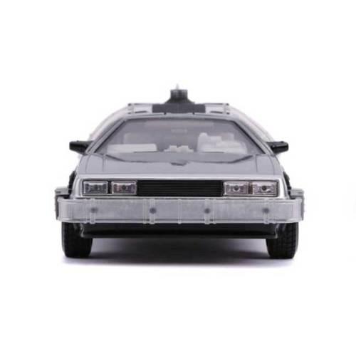 Modellino Delorean scala 1/24 Backto the Future con Luci dettaglio frontale