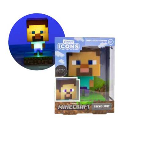 Lampada Steve Minecraft