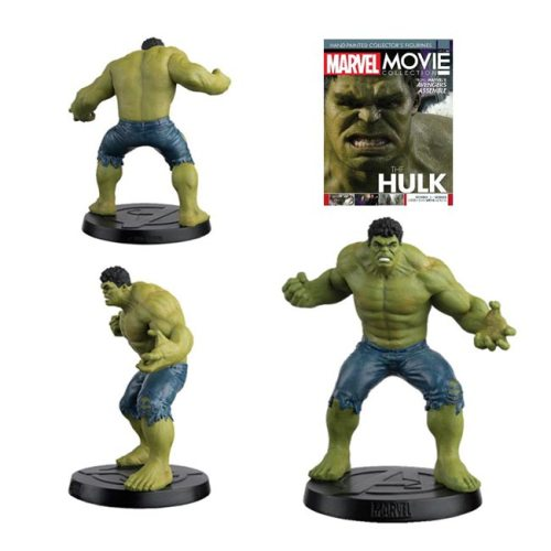 Action Figure Hulk Eaglemoss dettagli giornale