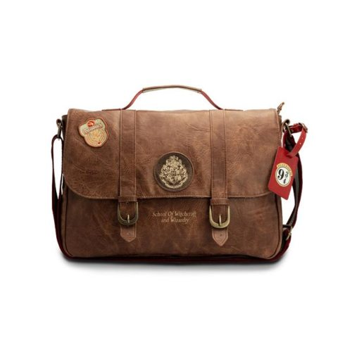 Borsa tracolla effetto pelle School of Witchcraft and Wizardry